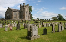 Canonbie, Parish Kirk and Kirkyard, Dumfriesshire © Anne Burgess
